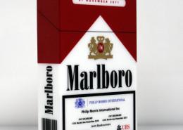 Bespoke printed large cigarette package