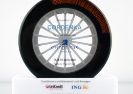 Lucite Financial Deal Toy Wheel